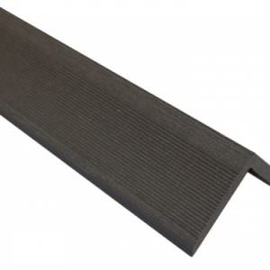 Уголок Ай-Техпласт торцевой 50х50 — 3 метра, Венге