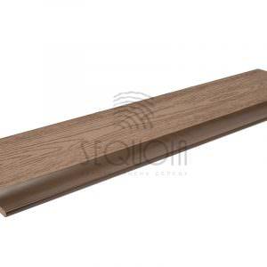 Заборная доска «SEQUOIA» 2200х146×20мм BROWNWOOD